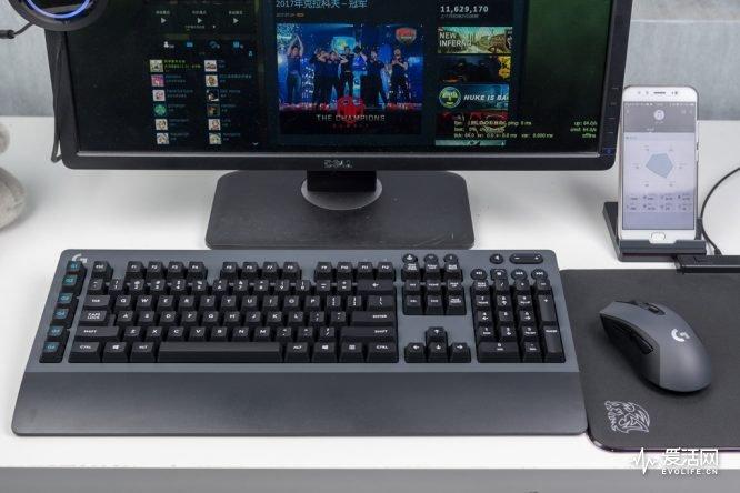 罗技G603/G613Lightspeed键鼠评测 深藏不露随时变身