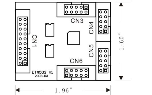 ETA503四串口扩展模块使用手册资料免费下载