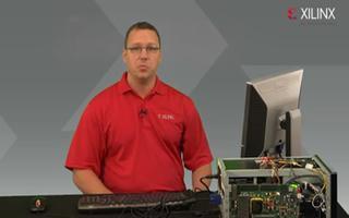 Virtex-7 x690T中PCI Express x8 Gen3端点功能的演示