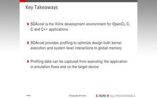 SDAccel开发环境的基本介绍