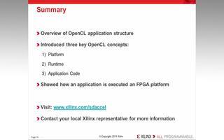 OpenCL应用程序的主机代码和内核元素