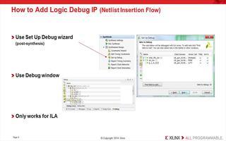 如何使用Vivado Logic Analyzer与逻辑调试IP进行交互