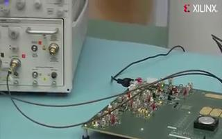 Kintex-7 K325T FPGA上的10Gbps收發器展示