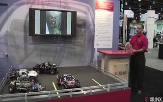 四摄像头环绕视图的Xilinx目标设计平台的演示