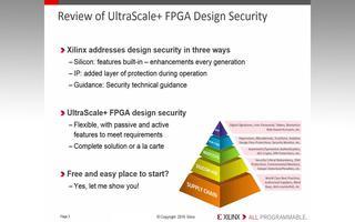 UltraScale+的安全锁定