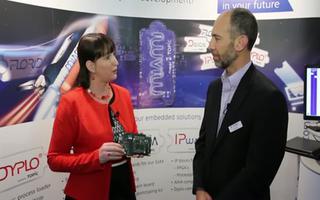 Zynq的新产品PCI-Express板及医疗解决方案的展示