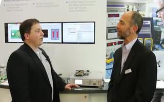 5Gsps数据采集和电机控制的展示介绍