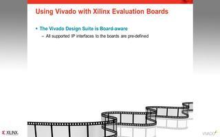 如何使用Vivado设计套件配合Xilinx评估板的设计