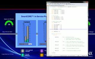 在100Gbps每秒可编程包处理系统中实现无中断升级