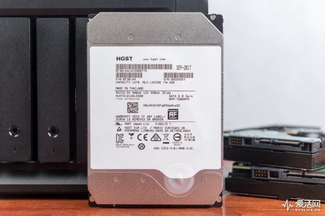 HGSTUltraStarHe12评测 12TB容量压制没有谁敢说比它更稳