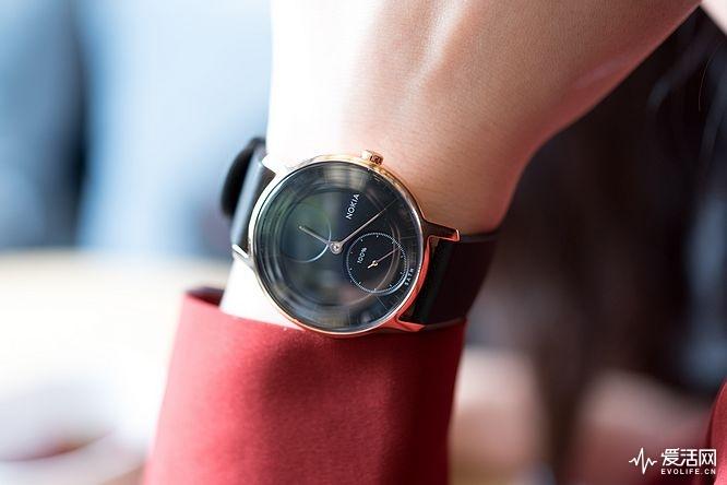 诺基亚SteelHR智能手表评测 时尚亦智能