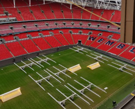 BT在伦敦温布利球场成功推出5G服务