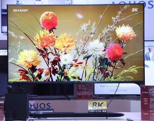 8K电视会给用户带来更加清晰的视觉体验