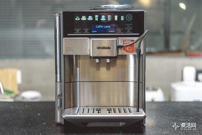 西门子EQ6系列全自动家用咖啡机评测 迈向小资生活第一步