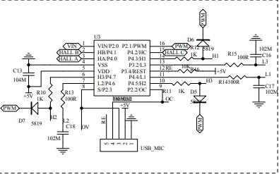 AC110-220V三相电机电路原理图资料免费下载