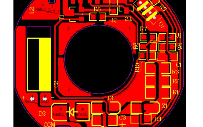 24V电源风扇PCB原理图原档资料免费下载