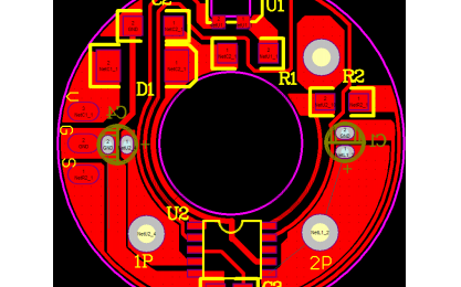 8025风扇PCB原理图资料免费下载