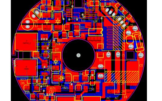 AC110 220V50W电源风扇的PCB原理图资料免费下载