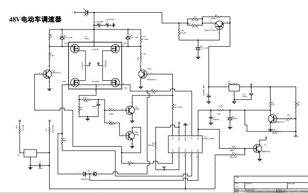 48V电动车调速器电路原理图资料免费下载