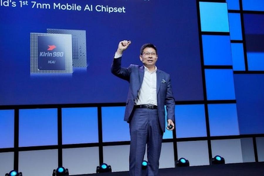 华为AI芯片麒麟980发布!7nm芯片、双NPU,六项世界第一