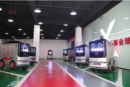 京东物流在长沙成立全球首个机器人智能配送站 日配送量达2000个