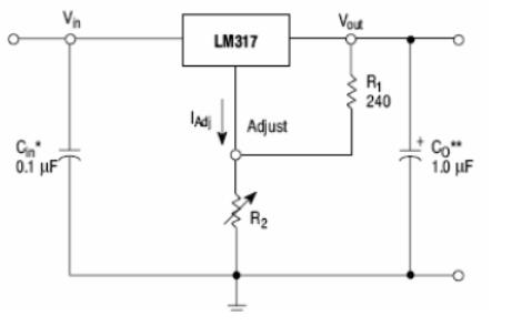 LM117和LM317三端可调正稳压器集成电路的详细资料介绍