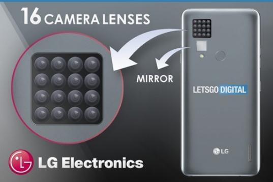 LG新机或有16颗摄像头 手机的玩法翻新出新高度