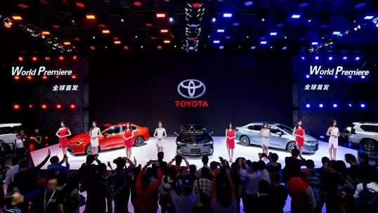 随着TNGA架构产品不断推向中国市场 丰田正在全...