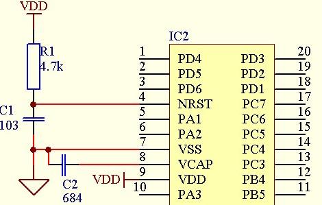 STM8S单片机怎样改变引脚实现最低功耗