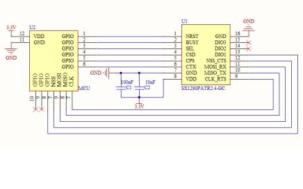 SX1280PA 2.4G无线收发模块的介绍和使用说明书的详细资料概述