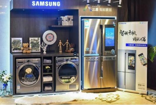 三星推出品道智宴冰箱 配备21.5英寸超大屏幕