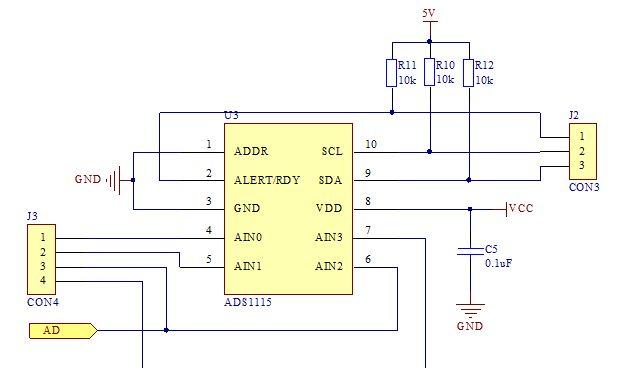 STM32单片机的ADS1115通过模拟I2C驱...