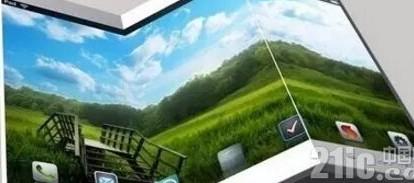 OLED手机FlexPai采用了7.8英寸可折叠OLED面板号称可折叠20万次
