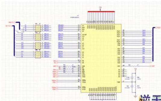 安霸A2S高清摄像机DV-8层板设计的原理图文件内含PCB文件链接