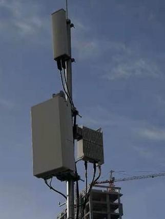 山西联通NSA组网的5G基站正式开通吞吐率是4G...