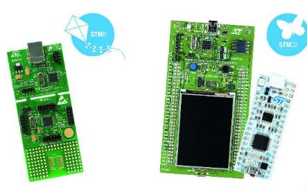 STM8和STM32混合信号微控制器选型手册资料免费下载
