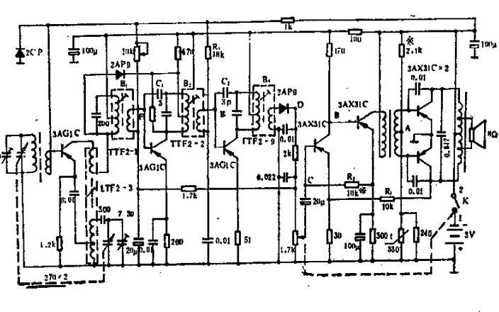 晶体管收音机、集成电路收音机的维修方法和案例资料说明