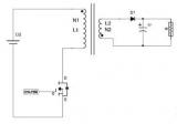 我们先来认识一下反激变换器,反激电路的演变