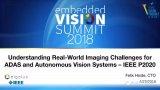 探索ADAS和自动化视觉系统的成像挑战