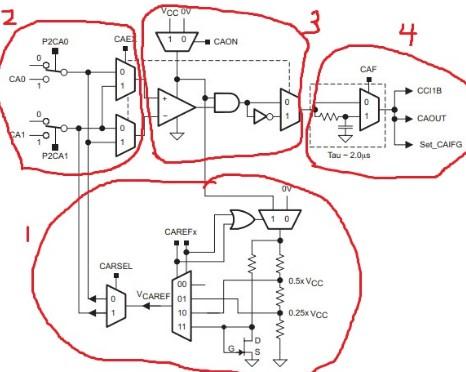 MSP430单片机的比较器工作原理解析