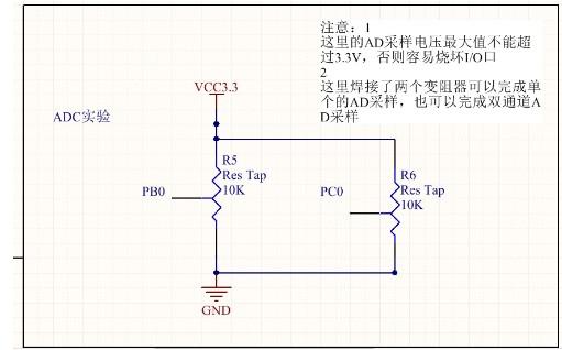 STM32单片机的ADC多通道采样