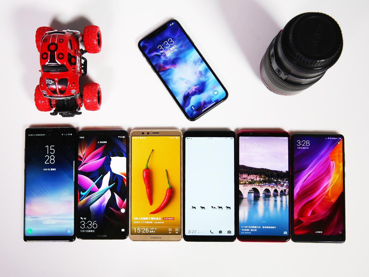 七款旗舰手机对比谁拍照最好