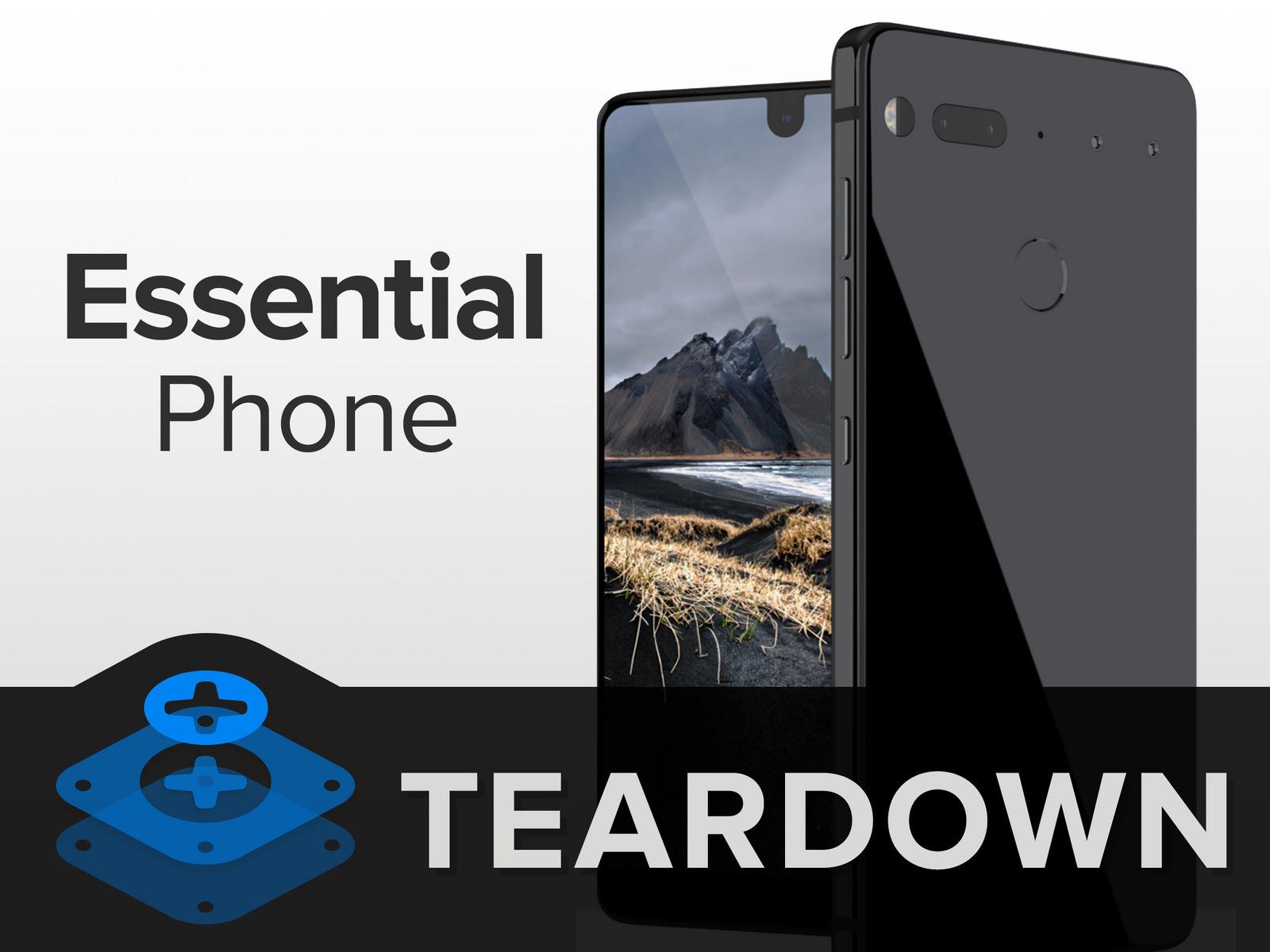 EssentialPhone拆解 做工及用料如何