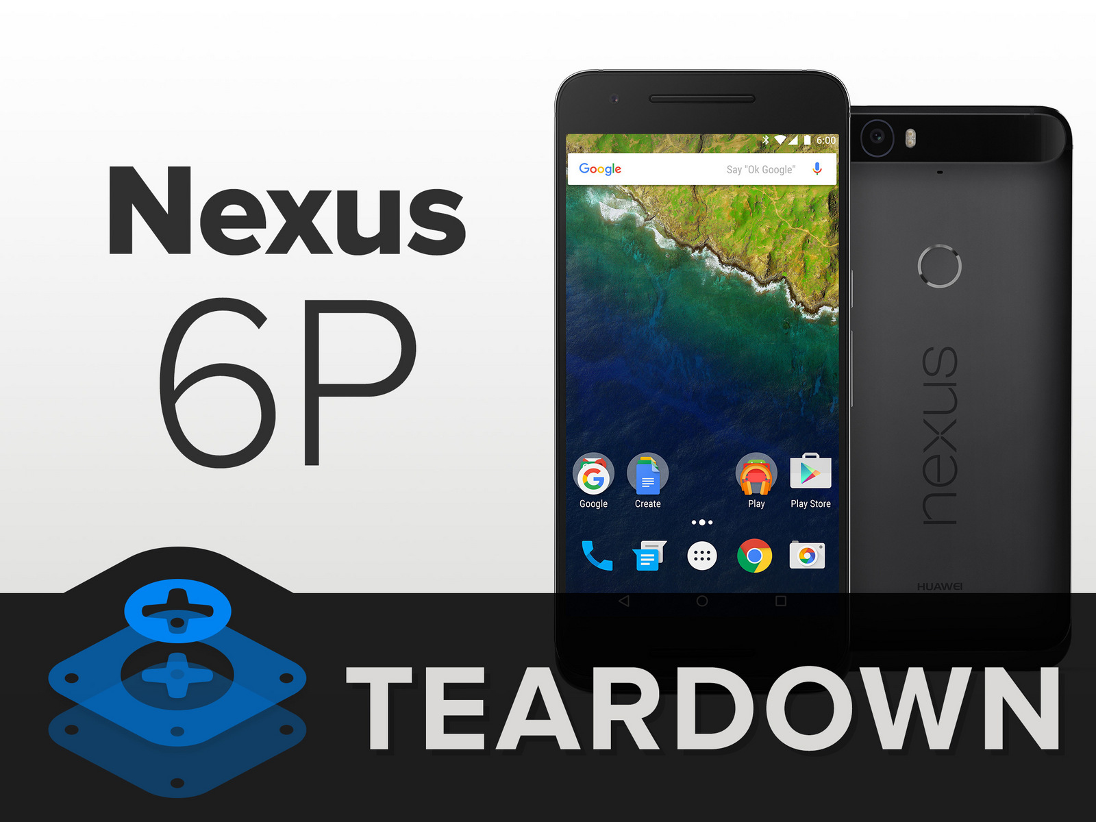 Nexus6P拆解 内部做工及用料如何