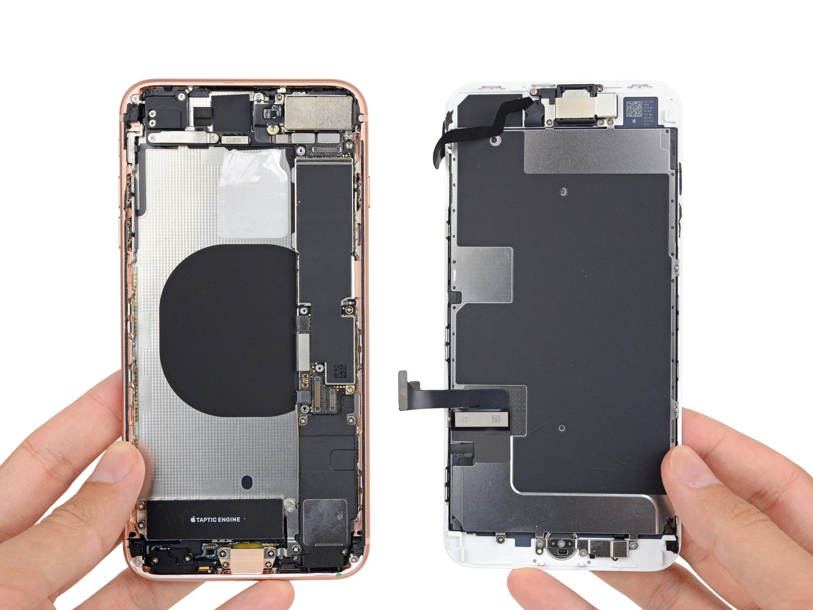 iPhone8Plus拆解 内部到底是什么样的