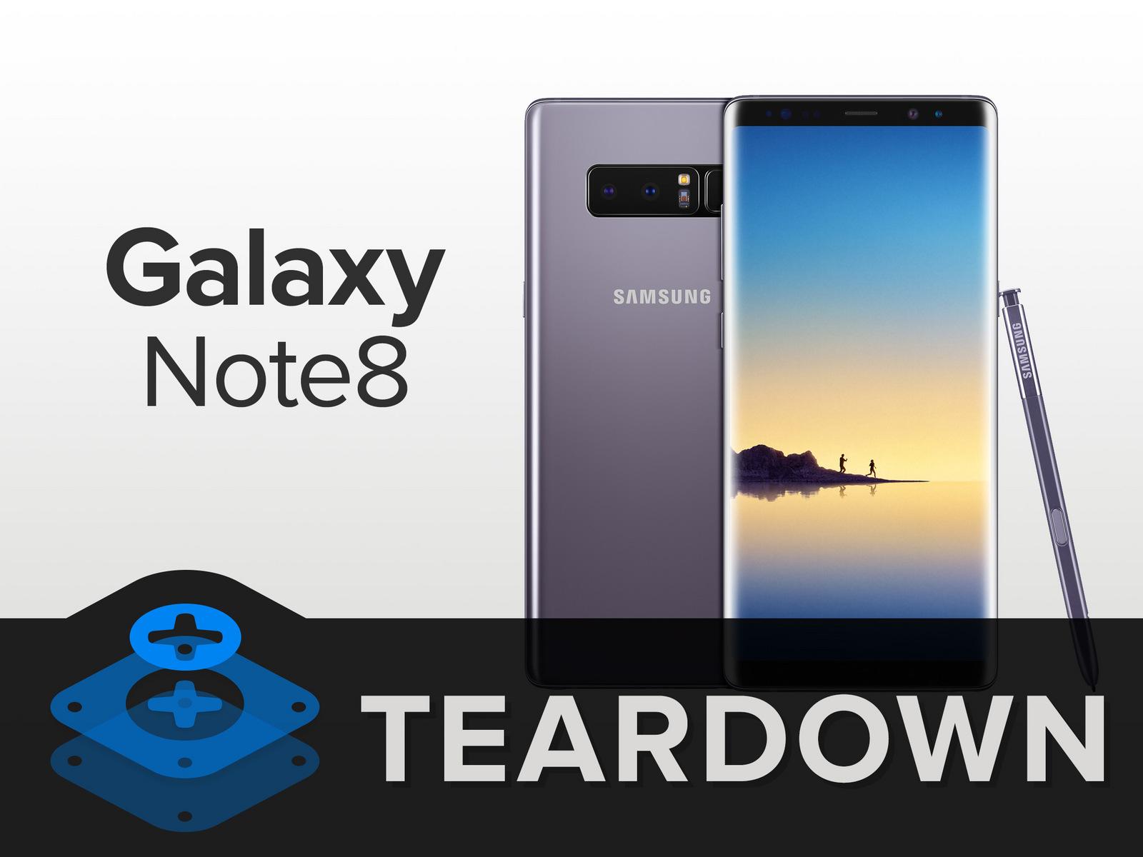 GalaxyNote8拆解 做工及用料如何