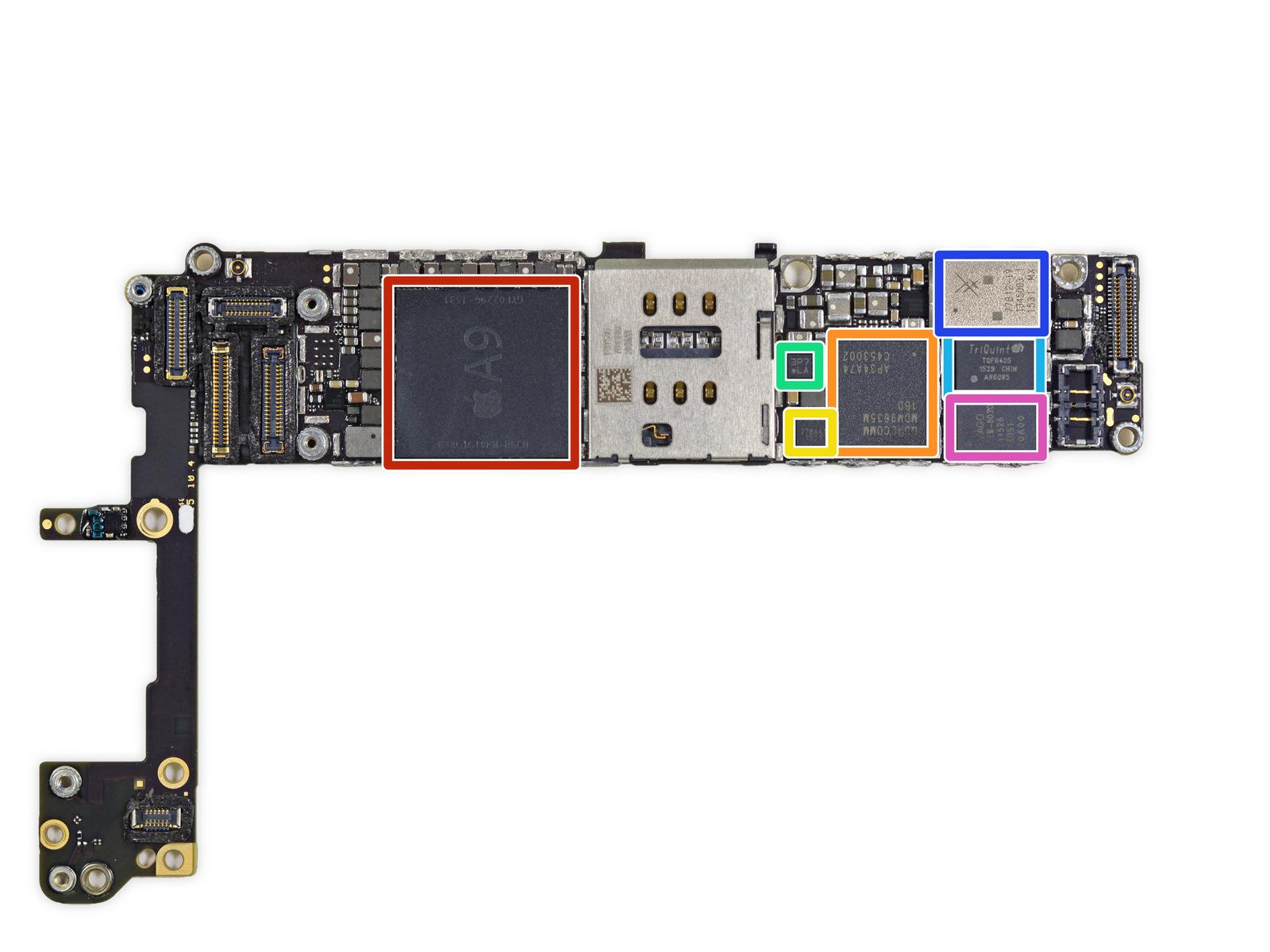 iPhone6s拆解 做工及用料如何