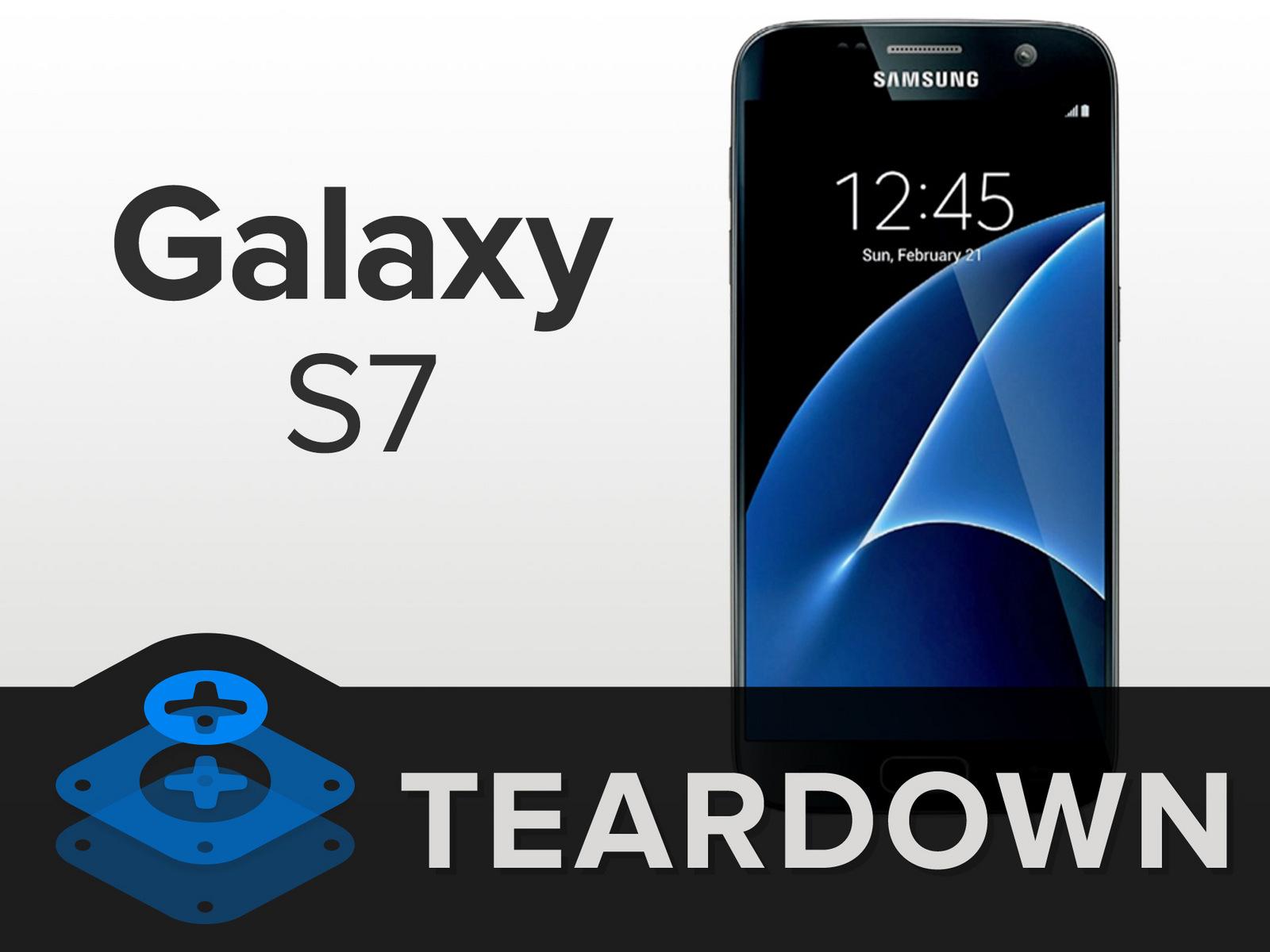 三星GalaxyS7拆解 内部做工及用料如何