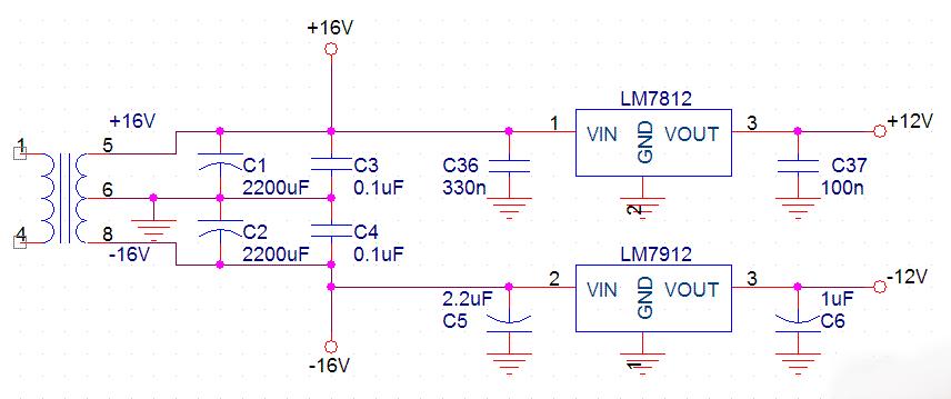 ▼输出电压5V的直流稳压电源▼  ▼输出电压 5V 和连续可调电压1.5V~30V/1.5A 电源▼  ▼双组正负电压12V的