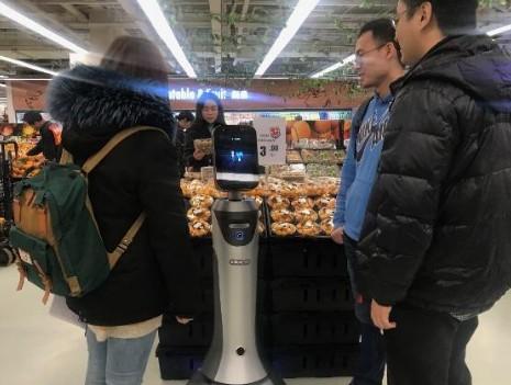 国内首个超市AI导购机器人已上岗,为商家实现数字...